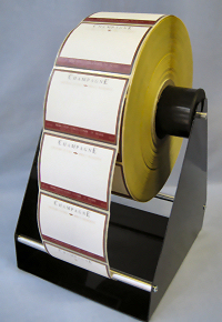 External Roll Holder Rh 500 Self Adhesive Labels Plain